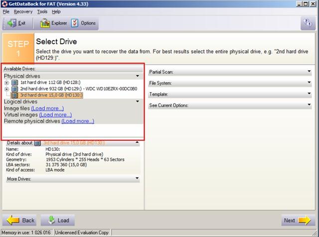 Если случайно удалили файл, не беда, вам поможет программа - GetDataBack