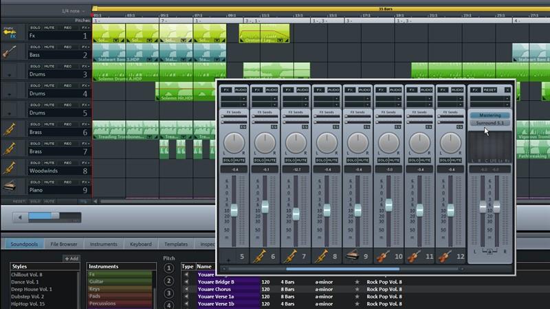 Очень удобная программа для музыки - Magix Music Maker