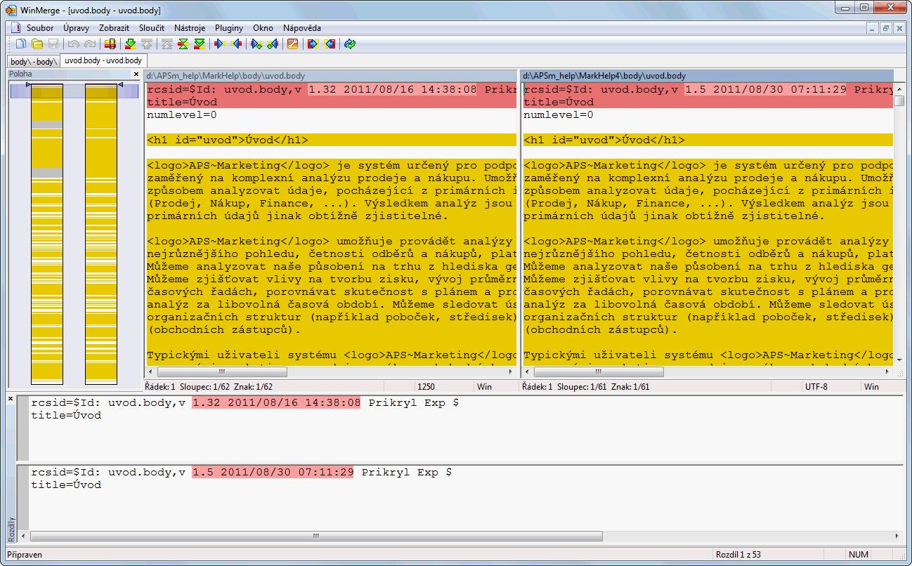 Если надо сравнить тексты или код, Winmerge то, что вам надо