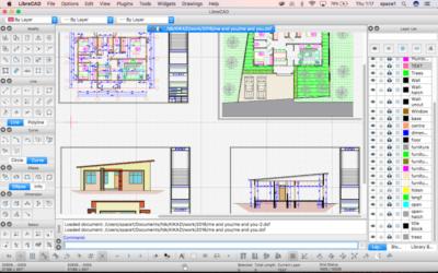 Обзор удобной программы для чертежей - Librecad